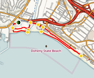 Doheny State Beach Walk Map
