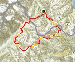 Val Ferret, Malatra, Grand Saint Bernard, Lacs de Fenetre Trail Map