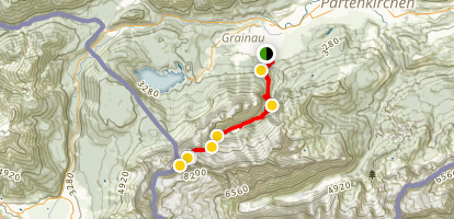 Zugspitze Peak Trail Map