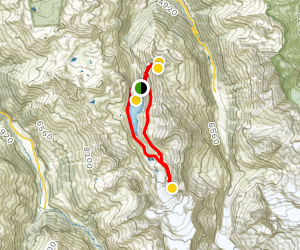 The Glacier and Lake of the Moiry Map