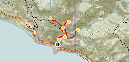 Hare Creek and Limekiln Trails  Map
