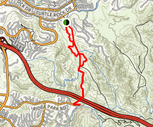 Bommer Canyon Trail Map
