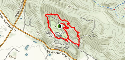 Meadow Woods Resort Loop Map