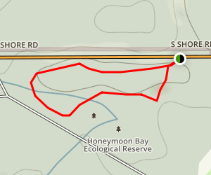 Honeymoon Bay Ecological Reserve Trail Map
