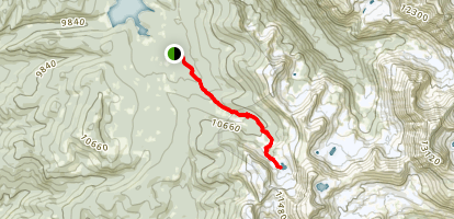 Columbine Lake Trail Map