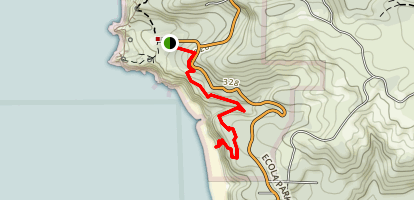 Crescent Beach Trail Map
