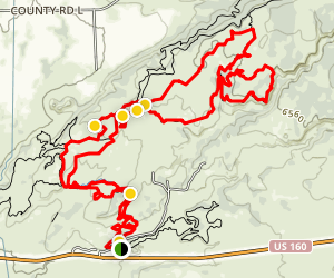 Phil's World Mountain Bike Trail Map