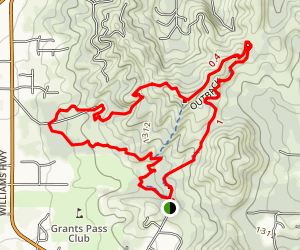 Cathedral Hills Trail System Map