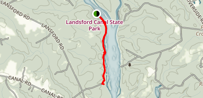 Landsford Canal State Historic Site Map