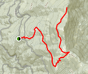 Wagner Butte Trail Map