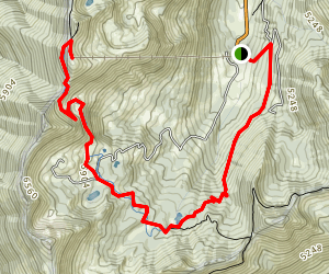 Crystal Mountain Trail Map