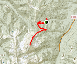 Byers Peak Trail Map