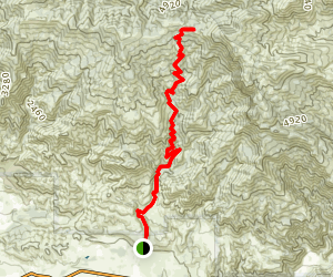 Sisar Canyon/Red Reef Trail (CLOSED) Map