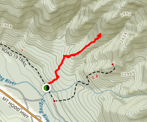Castle Canyon Trail Map