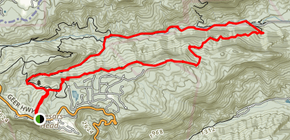 Rim of the Gap Trail Map