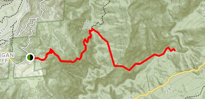 Bake Oven Trail Map