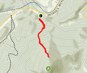 Saint Elmo Peak Trail Map