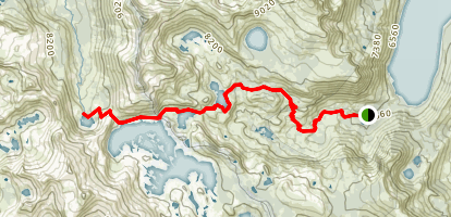 Clyde Lake Map