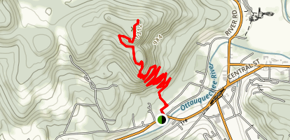 Mount Tom via Faulkner Trail Map
