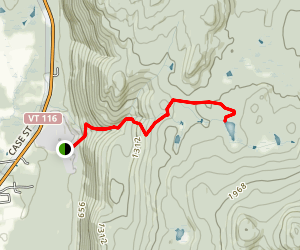 Abbey Pond Trail Map
