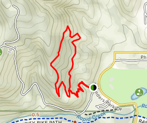 Black Hills North Area Campgrounds Loop Trail Map