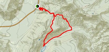 Gumjuwac and Badger Creek Loop Trail Map