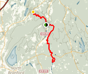 Menunkatuck and Mattabasett Trails Map