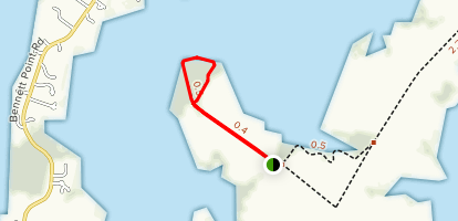 Ferry Landing Trail Map