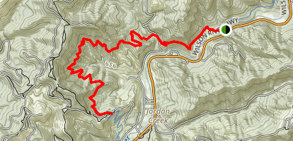 Wilson River Trail Map