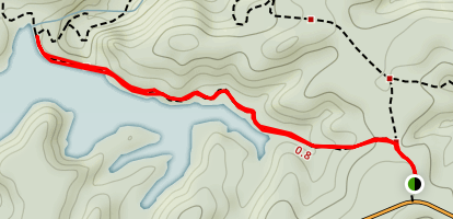 Catamount Reservoir Trail Map