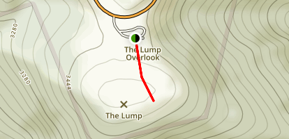 The Lump Trail  Map