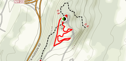 Olana State Historic Site Trail Map