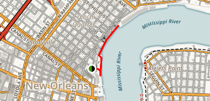 River Walk Map