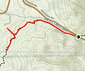 Walker Pass Campground Trail Map