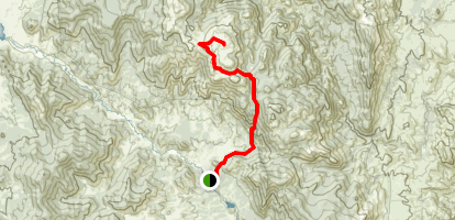 McCurdy Mountain  Map