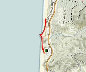 Hug Point Trail Map