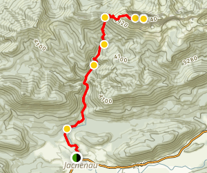 Benediktenwand Trail Map