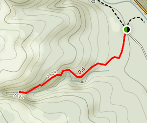 Boulder Cave Trail Map