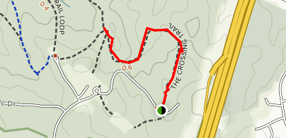 The Crossing Trail Map