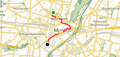 Map Of Germany Showing Munich.Munich Art And Cultural Walking Tour Bavaria Germany Alltrails