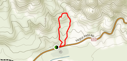 Cactus Loop Trail Map