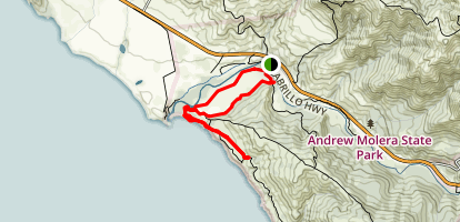 Andrew Molera Beach Trail Map