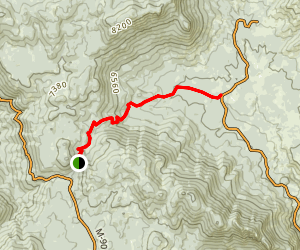 Freeman Creek Trail Map