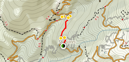 Stagiates, Megarema, Koukourava Trail Map