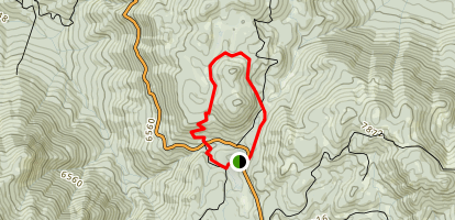 Quaking Aspen Campground Loop Trail Map