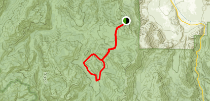 Llewellyn Falls Loop Trail Map