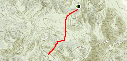 Corral Valley Trail (historical) Map