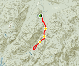 Lake Colden Loop Trail Map