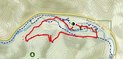 Bruin Bluff Trail Loop Map