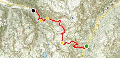 Black Bear Pass Trail Map